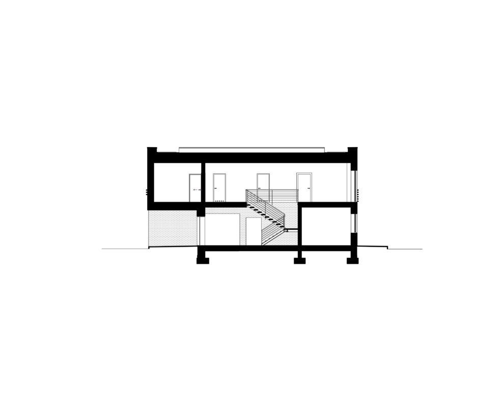 Projekt domu - przekrój