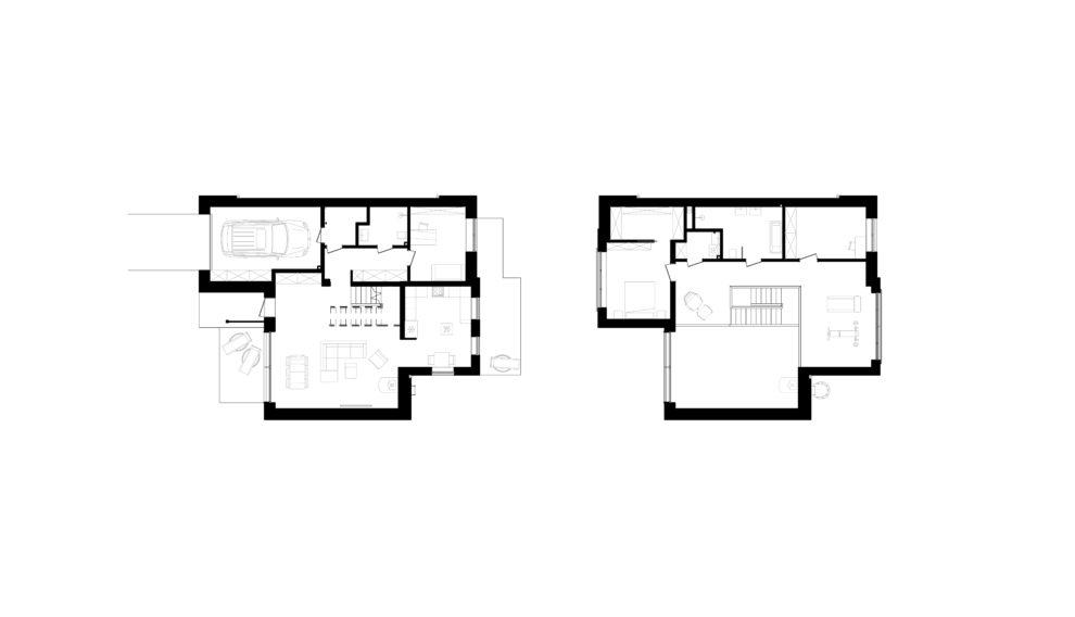 Projekt domu - rzuty