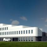 Budynek biurowy wraz z laboratoriami